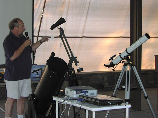 Astronomy Equipment Talk